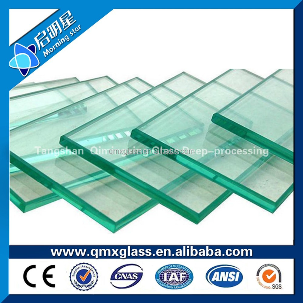 Hot sale Customized Curved Laminated Architectural Glass Tinted Tempered Glass