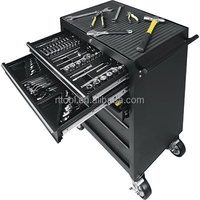 162pcs trolley tool cart with set tools RT TOOL