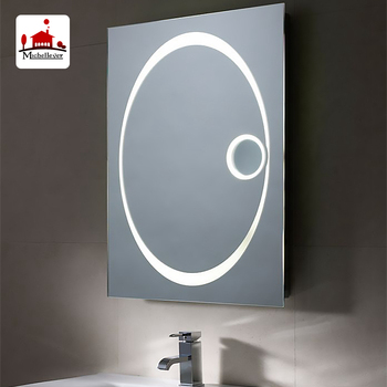 20x 30 X Magnifying Mirror With Light Bathroom Accessory