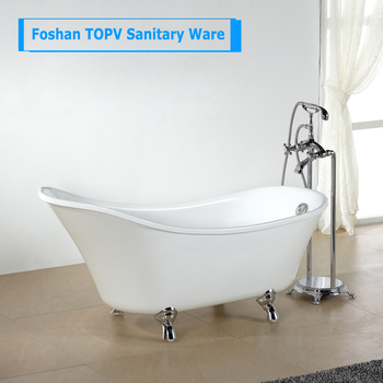 high quality 1.5 meter white hotel small bathtubs for small