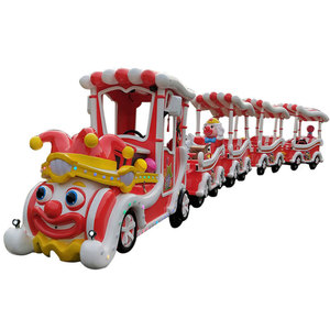 Christmas clown trackless train ride for sale