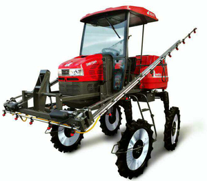 ATV high clearance Self-propelled agriculture chemical boom crop knapsack power sprayer