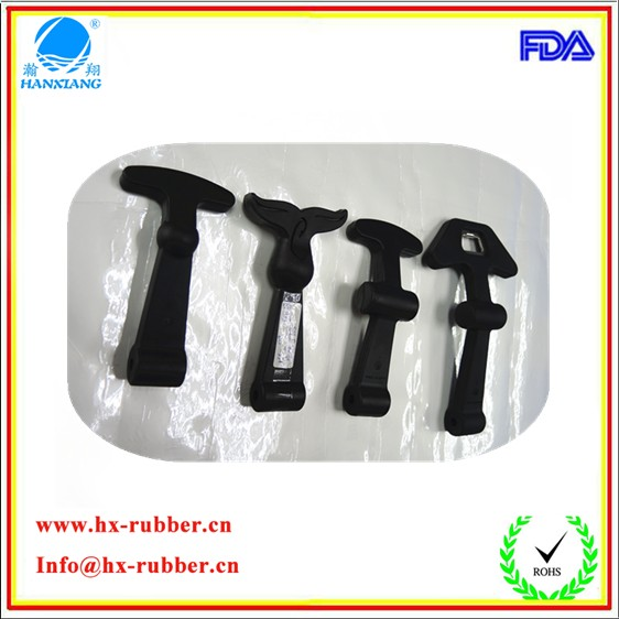 2016 high quality EPDM rubber fishing handle latch/tool box handle latches/door latch