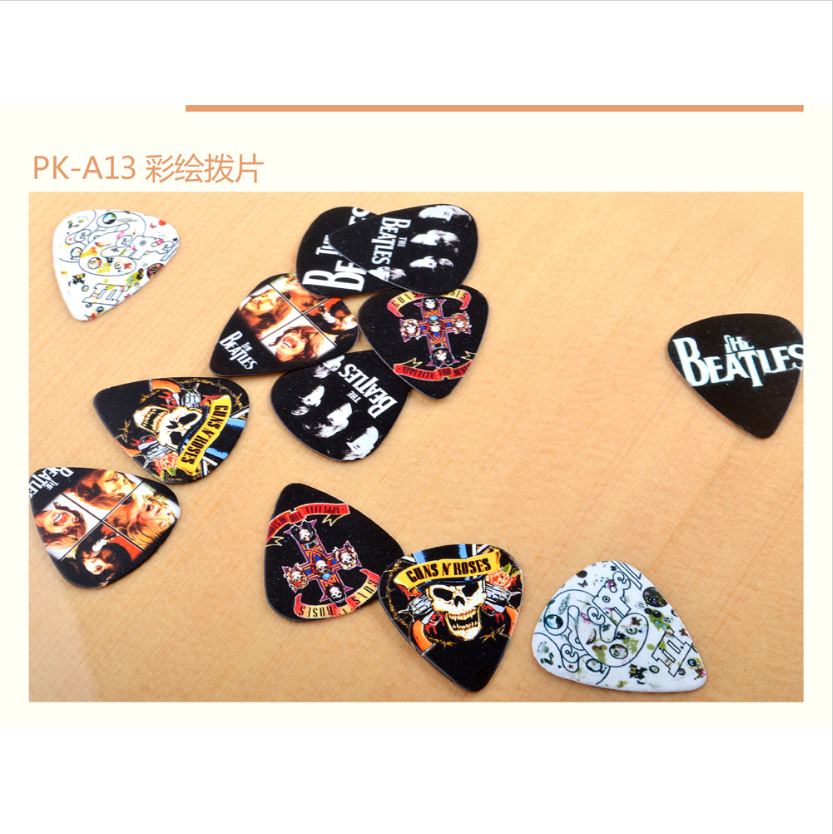 Customize guitar picks guitar plectrum colorful for guitars