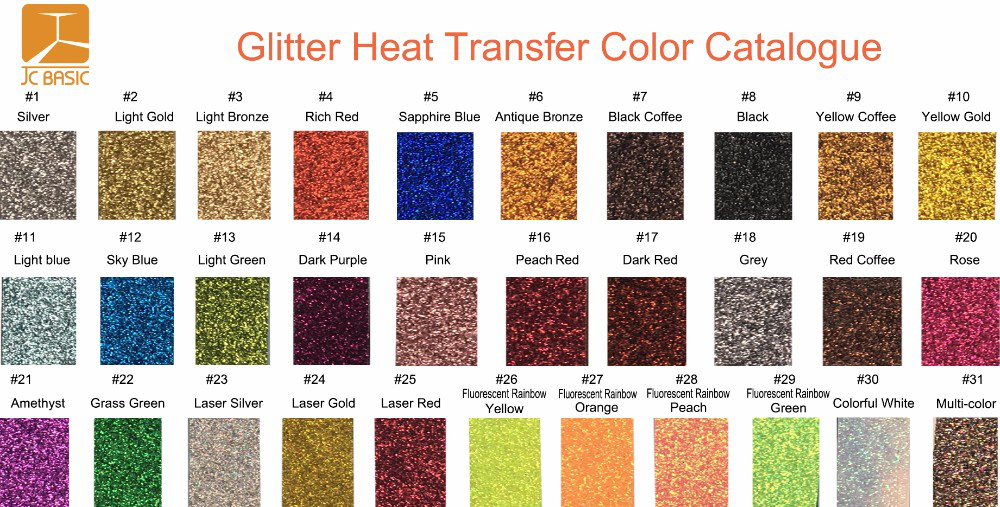 high quality most fashionable glitter heat transfer vinyl for clothing PU PVC hologram flock heart transfer film
