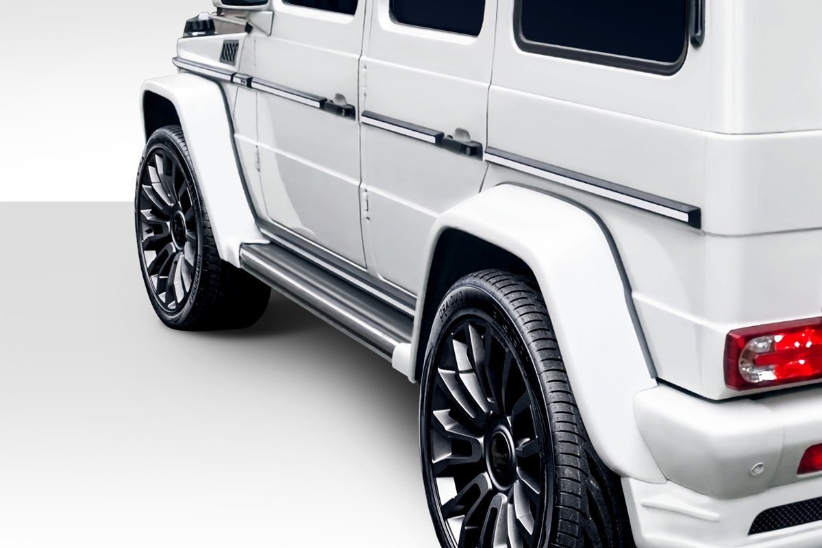 2000-2010 Mercedes G Class W463 Eros Version 1 Fender Flares - 4 Piece