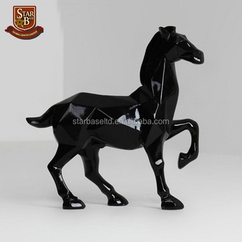 New Product Resin Horse Sculpture Home Decor Gifts For Friends