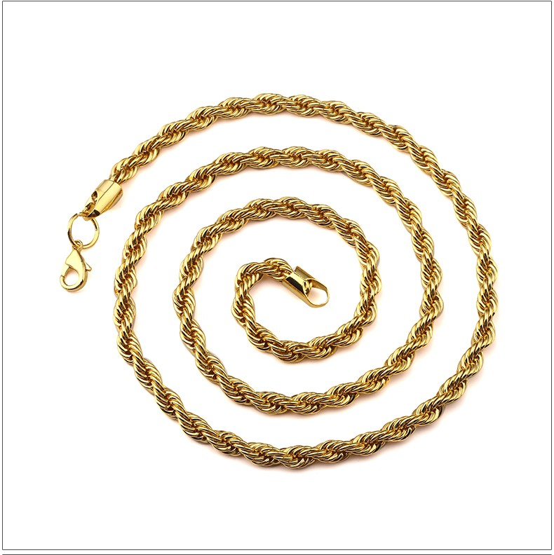 New Gold Chain Design For Men 4/5/6 Mm Thick Stainless Steel Snake ...