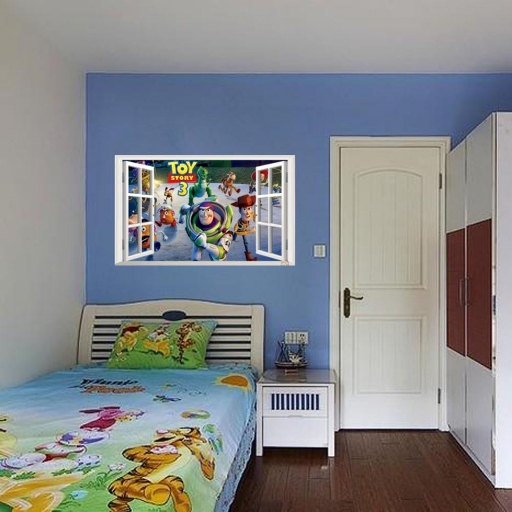 new design cartoon mural art playroom diy nursery decals wallpaper warehouse decorative sticker. Black Bedroom Furniture Sets. Home Design Ideas