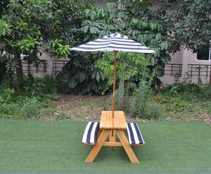 Prime Outdoor Kids Garden Picnic Table Chair With Umbrella Creativecarmelina Interior Chair Design Creativecarmelinacom