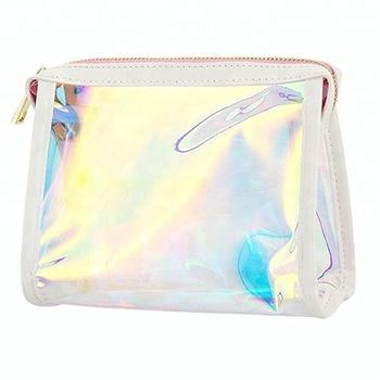 bf35e3890deb Travel Clear Rainbow Laser Hologram Cosmetic Wash Pouch Pvc Makeup Bag -  Buy Pvc Makeup Bag,Cosmetic Pouch,Travel Wash Bag Product on Alibaba.com