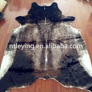 Customized Cowhide rug Cow pattern