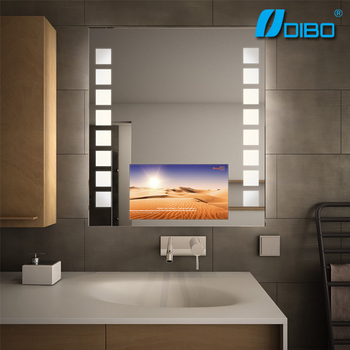 Bathroom Magic Mirror TV