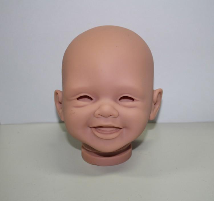 Diy Vinyl Model Kits Smile Doll Face 16 Inch Soft Vinyl