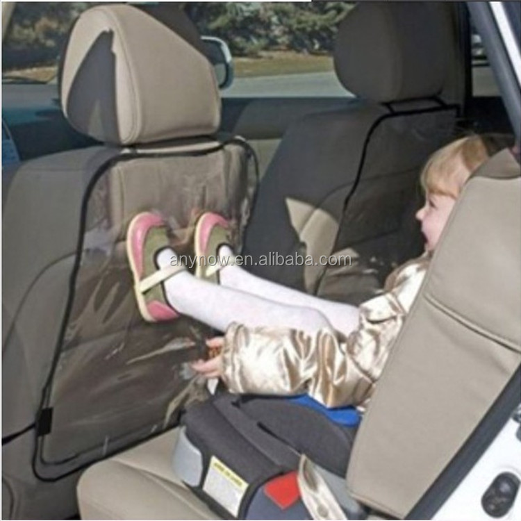Waterproof Anti -dirty car back seat protect plastic cover for Children