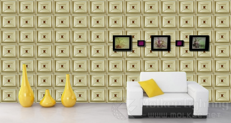 Faux Leather Material Pvc Board 3d Wall Decor Panel,Comfortable Faux ...