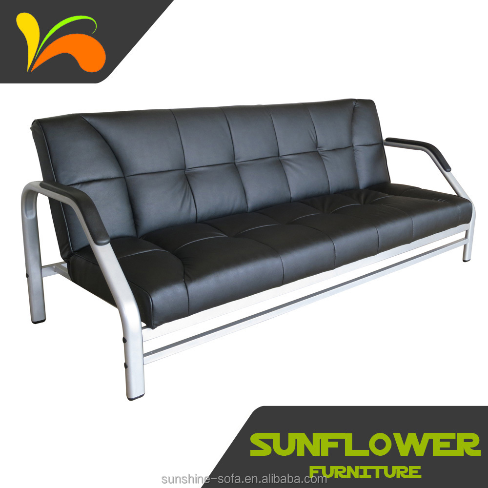 Metal Frame Futon Sofa Bed For Home