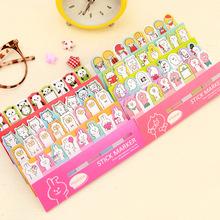 Cute Little Animals Friend Memo Pad Sticky Notes Memo Notebook Stationery Papelaria Escolar School Supplies