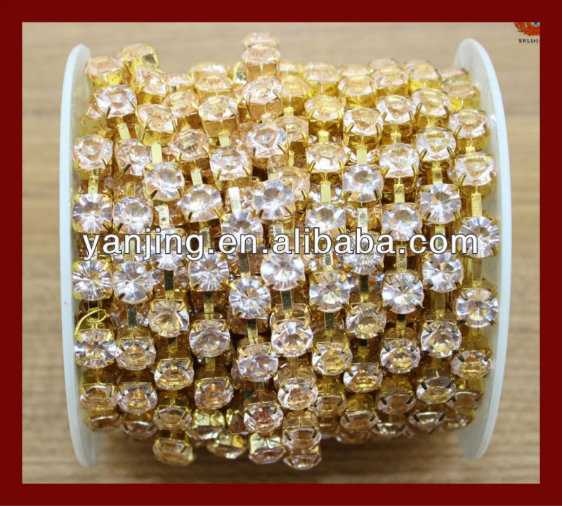 stones for clothes decoration rhinestone cup chain rhinestone