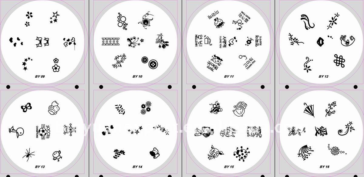 Nail Art Stamping Plates - Buy Nail Art Stamping Plates,Nail Art ...