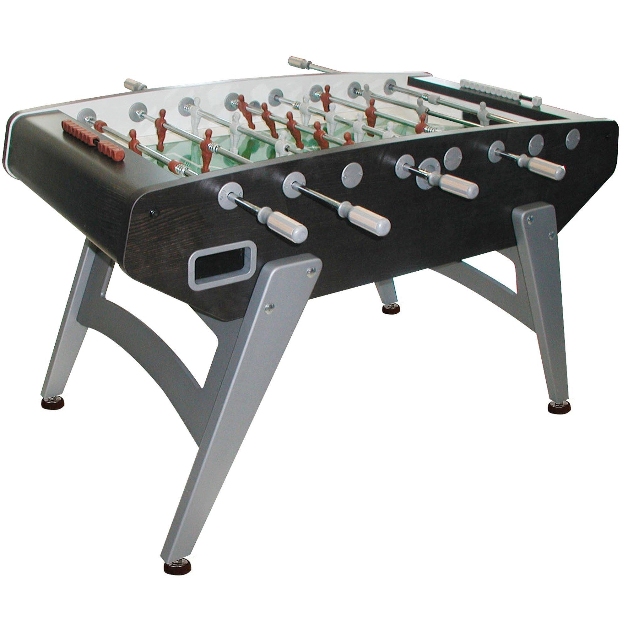 Get Quotations · Garlando G 5000 Indoor Foosball Table With Telescopic  Rods, Slanted Legs, Abacus Scorers