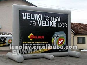 HI Air tight billboard ,advertising inflatables billboards ,outdoor advertising billboard