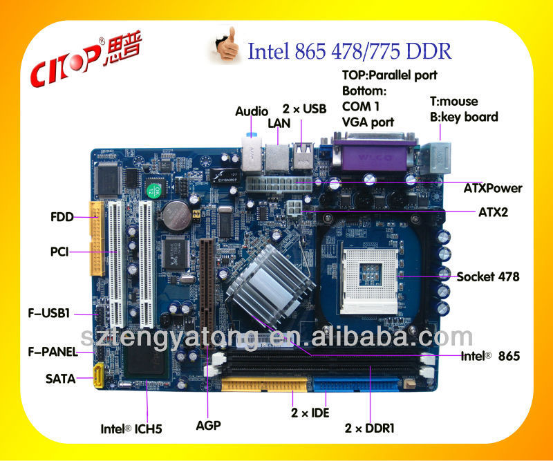 Intel 865 Motherboard Circuit Diagram on motherboard schematic