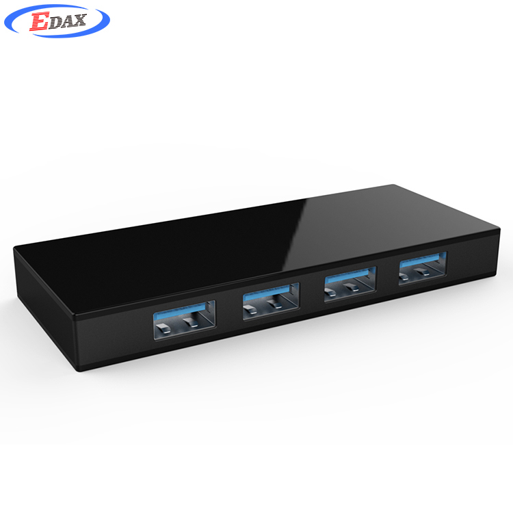 High Speed 4Ports USB Multi HUB Splitter Expansion Desktop PC Laptop Adapter