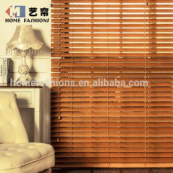 Benutzerdefinierte Outdoor Bambus Vorhange Fenster Rollos Jalousien