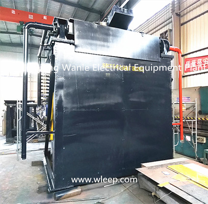 5T Steel Shell IF Induction Aluminium Melting Furnace