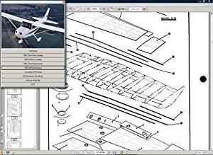 Buy Cessna 172 XP + Engine Service Maintenance Manuals Skyhawk Xp