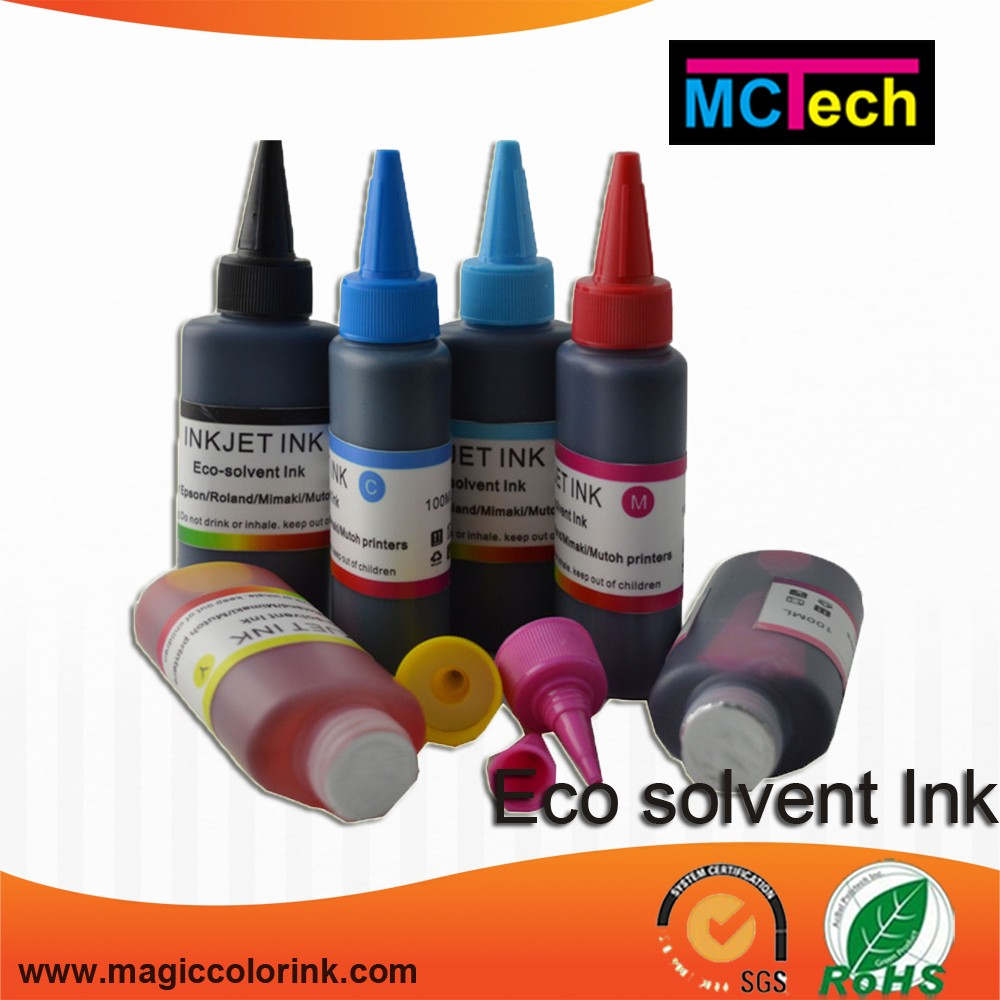 Eco solvent ink for Epson DX4/DX5/DX7 head, for Roland XJ-740/XJ-640 printer