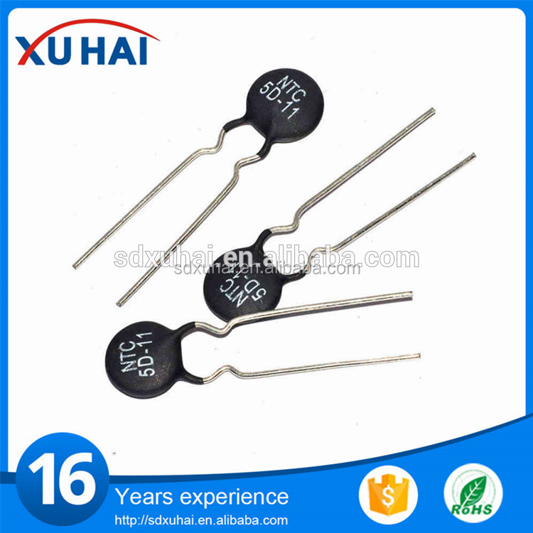 PTC Thermistors for CFL ntc temperature sensor 5k