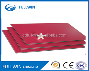 China cheaper price Superior Quality ACP PVDF/PE nano materials alucobond
