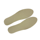 Wholesale promotion ultra-thin comfortable and breathable PU artificially made leather insole