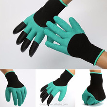 2017 Custom Made ABS Latex Plant Rose Flower Easy Use Women Garden Genie Gloves