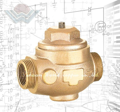 WD-1206 Bronze adjusting water pressure reduction valve