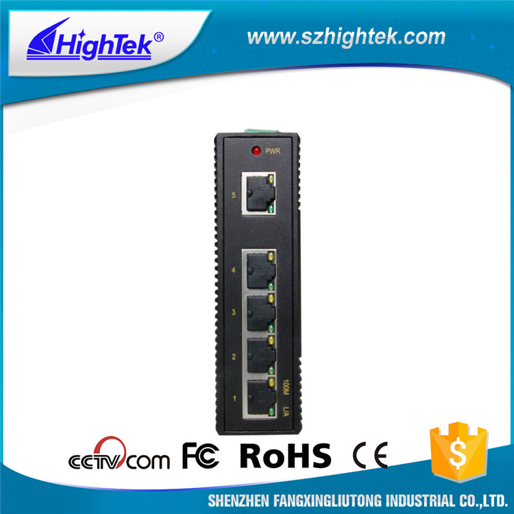 HK-8605 10/100 Base 5-port industrial ethernet switch pcb board