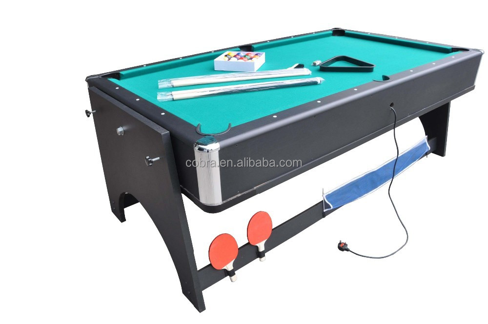 Kbl B1204 4 In 1 Game Table(pool Table,Air Hockey Table,Table Tennis Table,Dinner  Table),Mdf Game Table,Offer Oem And Odm   Buy 4 In 1 Multi Game Table Can  ...