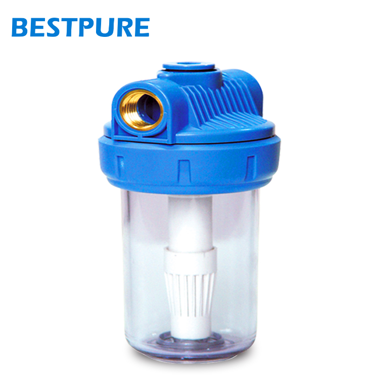 5 Inch home water filtration system accessory alkaline filter water bottle cartridge ro canister water filter housing