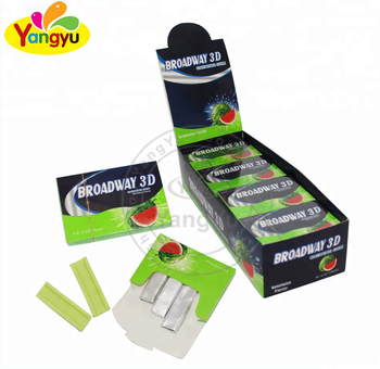 fruity watermelon flavor chewing gum natural organic chewing Gum