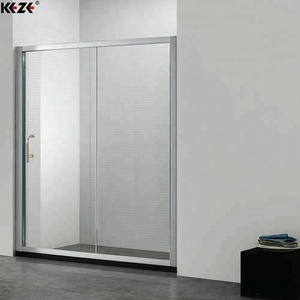 Cheap bathroom sliding glass door design
