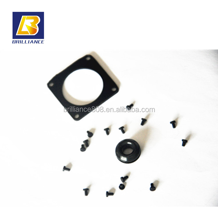 vibration dampening gasket rubber 3 rubber gaskets conductive flexible seals and gaskets