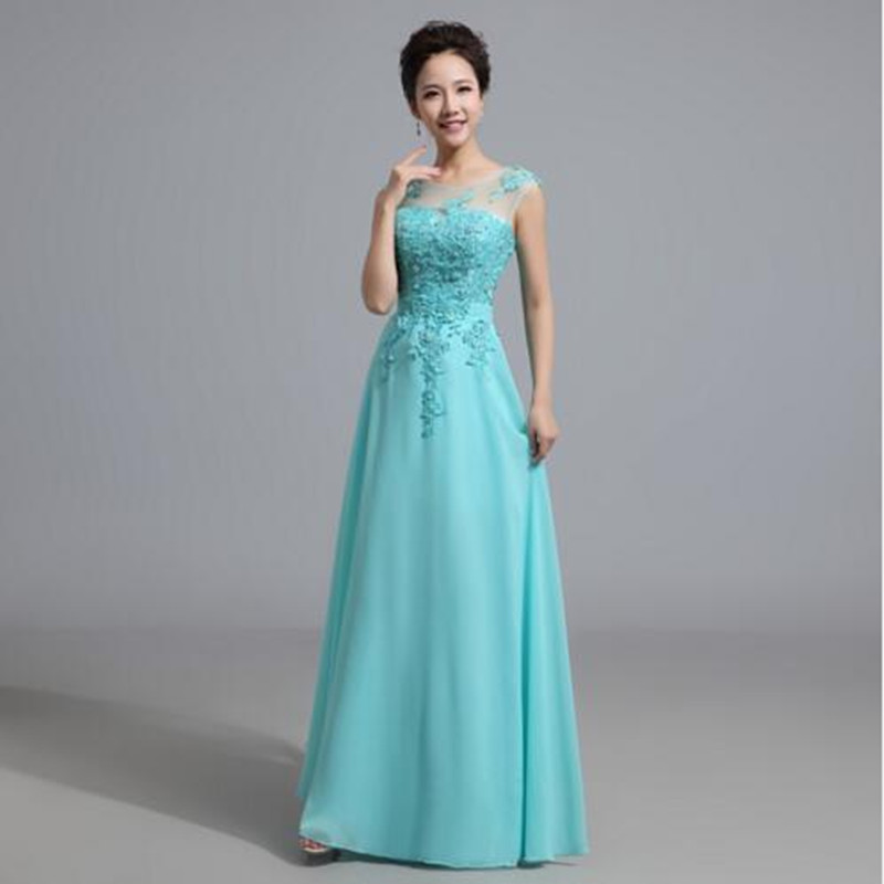 Light Aqua Bridesmaid Dresses Promotion-Shop for ...
