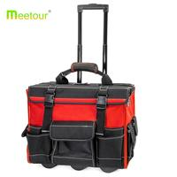 2018 hot sell Tool Bag Organizer wheels Heavy Duty rolling tool storage bags