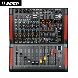 Alibaba Supplier Modern design GM8 sound mixing console karaoke soundboard mixer