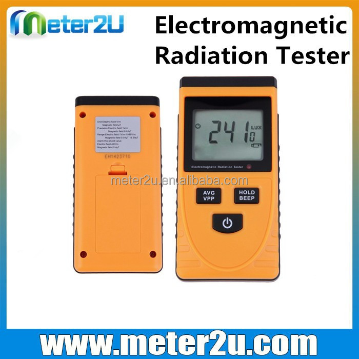 combination electric magnetic field meter emf 0~1800um