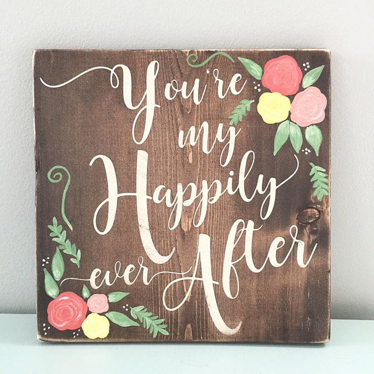 Handcrafted Options Of Color Love Quote Wooden Sign Buy Custom