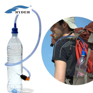 FDA Hydration System Convert Drinking Tube Set Camping Outdoor Riding Hiking Hose Kit Water Bottle Adaptor