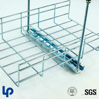 Lepin Hot-Dip Galvanized stainless steel Wire Mesh Cable Tray